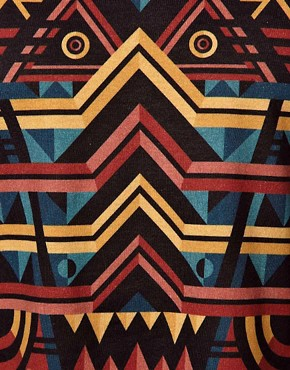 Image 3 ofLacoste Live T-Shirt with Tribal Print