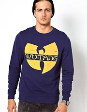 ASOS Wu Tang Printed Crew Neck Sweat