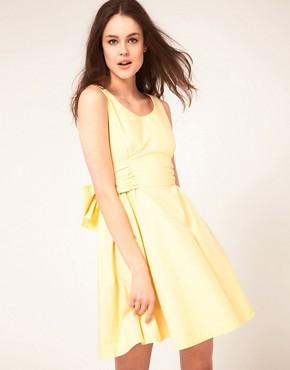 Image 2 ofBoutique By Jaeger Bow Back Prom Dress