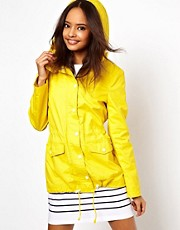 ASOS Coated Cotton Parka