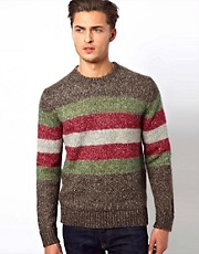 French Connection Jumper Tweed Stripe