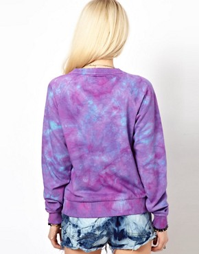 Image 2 of Worn By Peace & Bones Tie Dye Sweatshirt