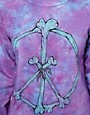 Image 3 of Worn By Peace & Bones Tie Dye Sweatshirt
