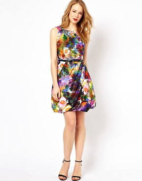 Image 4 ofCoast Adara Print Dress