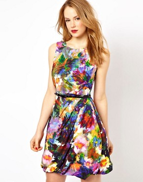 Image 1 ofCoast Adara Print Dress