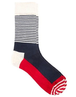 Image 1 of Happy Socks Stripe Socks