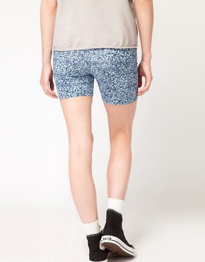 Image 2 ofAmerican Apparel Cotton Spandex Cycle Shorts