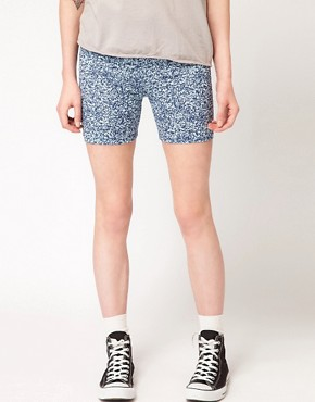 Image 4 ofAmerican Apparel Cotton Spandex Cycle Shorts