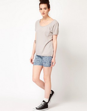 Image 1 ofAmerican Apparel Cotton Spandex Cycle Shorts