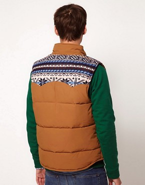 Image 2 ofASOS Gilet With Navajo Yoke