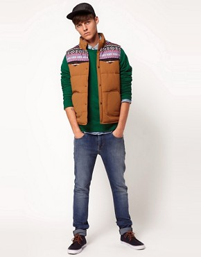 Image 4 ofASOS Gilet With Navajo Yoke