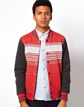 Image 1 ofCriminal Damage Varsity Jacket