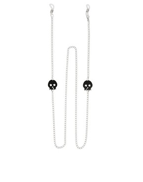 Image 1 ofASOS Skull Sunglasses Chain