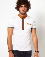 Bellfield Polo With Contrast Trims