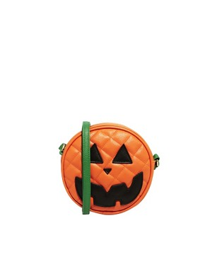 Image 1 of ASOS Pumpkin Across Body Bag