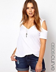 ASOS CURVE - Top a spalle scoperte