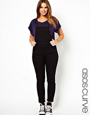 ASOS CURVE Dungaree In Twill