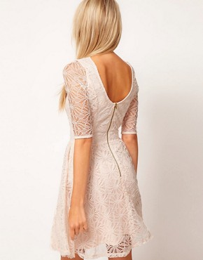Image 2 ofASOS Skater Dress In Lace