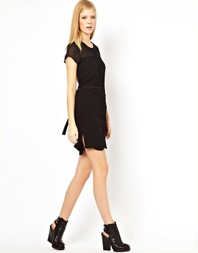 Image 4 ofFactory by Erik Hart Open Back Shirt Dress