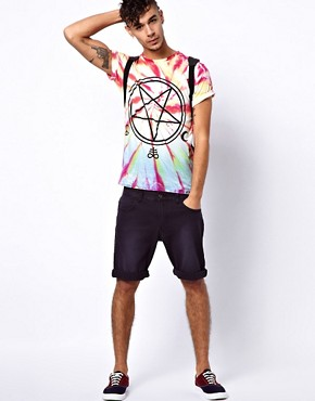 Image 4 ofAbandon Ship T-Shirt with Exclusive Tie-Dye Pentogram Print