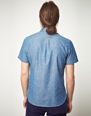 Image 2 ofLee 101 Every Man Chambray Short Sleeve Shirt