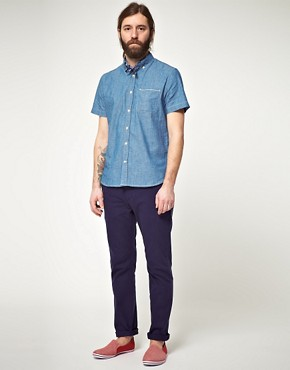 Image 4 ofLee 101 Every Man Chambray Short Sleeve Shirt