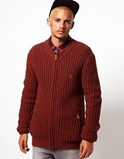 Makia Donegal Knitted Zipthru Cardigan