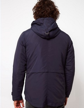 Image 2 ofASOS Parka Jacket With Removable Jacket