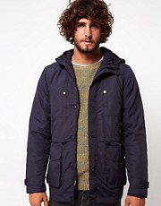 ASOS Parka Jacket With Removable Jacket