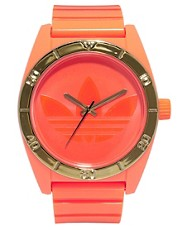 Reloj naranja flor Santiago de Adidas