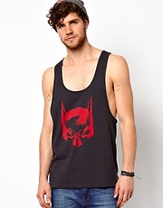 ASOS Vest With Batman Print