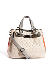 Bolso perforado con detalle de tachuelas Savanna de Paul&#39;s Boutique
