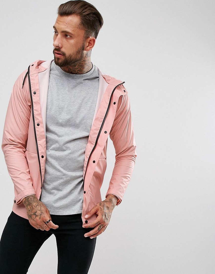 Another Influence Festival Waterproof Jacket - Pink