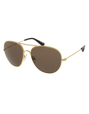 Image 1 ofThe Row Metal Aviator Sunglasses