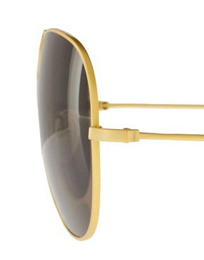 Image 4 ofThe Row Metal Aviator Sunglasses