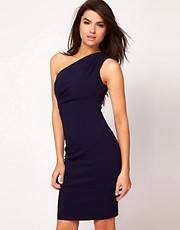 Hybrid Dress One Shoulder Pencil