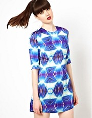 Sister Jane Psycho Dress in Digital Print