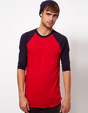 American Apparel - Top con maniche raglan