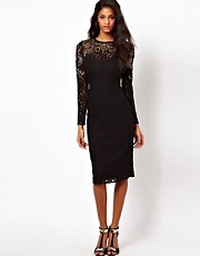 ASOS Midi Lace With Embellishment