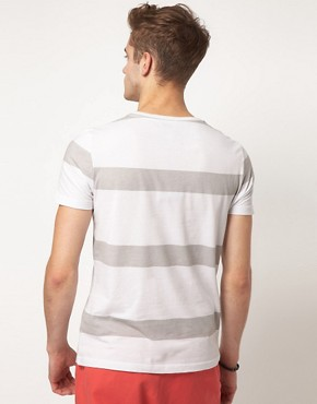 Image 2 ofASOS Stripe T-Shirt With Pocket