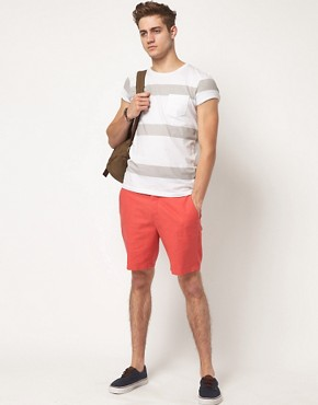 Image 4 ofASOS Stripe T-Shirt With Pocket