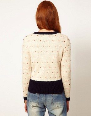 Image 2 ofAime by People Tree Wool Sausage Dog Jumper