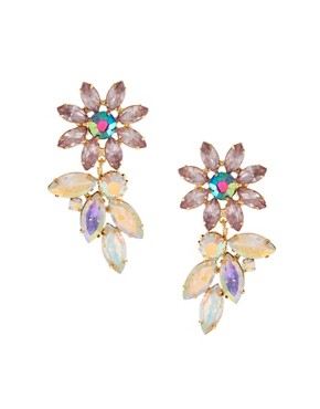 Image 1 ofASOS Flower Petal Earring