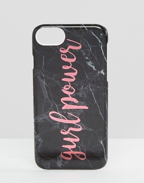 Skinnydip Marble Girl Power iPhone 6/6S/7 Case