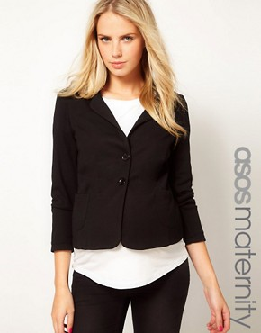Image 1 ofASOS Maternity Ponte Jacket