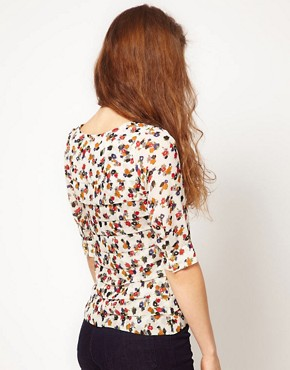 Image 2 ofA Wear Floral Print Blouse
