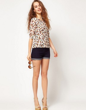 Image 4 ofA Wear Floral Print Blouse