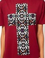 Image 3 ofASOS T-Shirt with Aztec Cross
