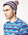 Image 2 ofASOS Geo Beanie