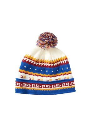 Image 4 ofASOS Geo Beanie